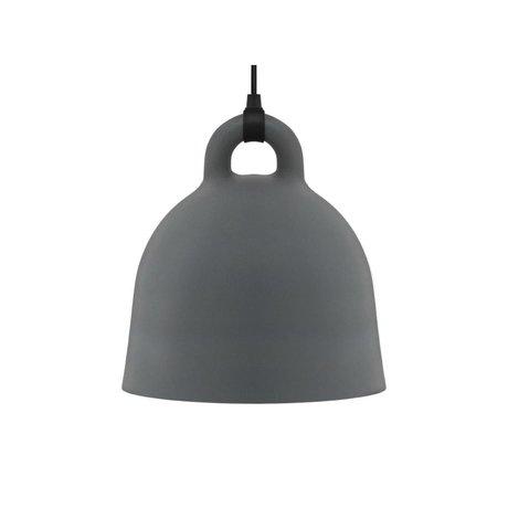Normann Copenhagen Campana in alluminio grigio piccolo 35x37cm