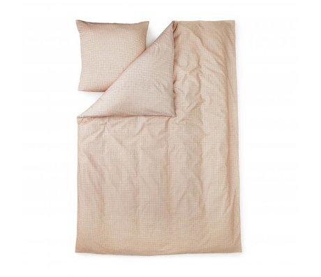 Normann Copenhagen Copripiumino Inoltre 140x200cm di cotone rosa