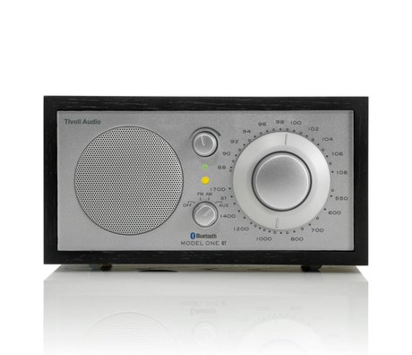 Tivoli Audio Shop Table Radio One Bluetooth 21,3x13,3xh11,4cm noir argent
