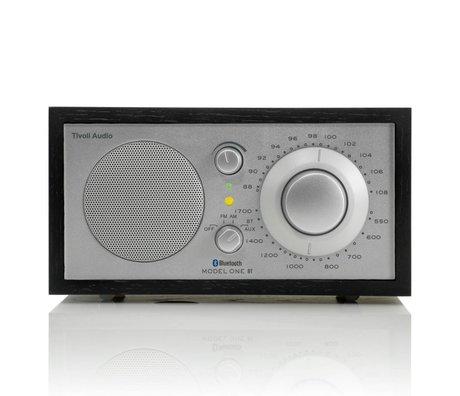 Tivoli Audio Shop Tablo Radio One Bluetooth siyah gümüş 21,3x13,3xh11,4cm