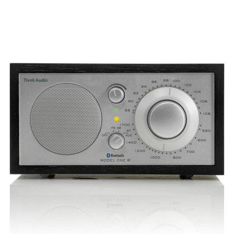Tivoli Audio Shop Tabla Radio Uno Bluetooth 21,3x13,3xh11,4cm plata negro