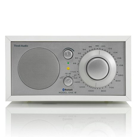 Tivoli Audio Shop Table Radio One Bluetooth white silver 21,3x13,3xh11,4cm