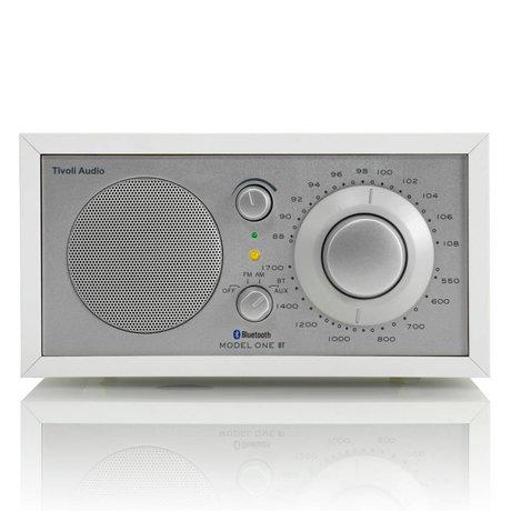 Tivoli Audio Shop Tablo Radio One Bluetooth beyaz gümüş 21,3x13,3xh11,4cm