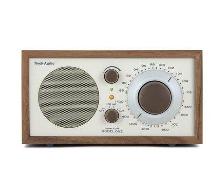 Tivoli Audio Shop Tischradio One Walnut beige 21,3x13,3xh11,4cm
