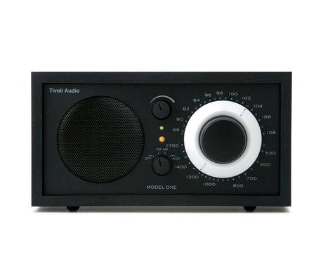 Tivoli Audio Shop Tablo Radio One siyah 21,3x13,3xh11,4cm