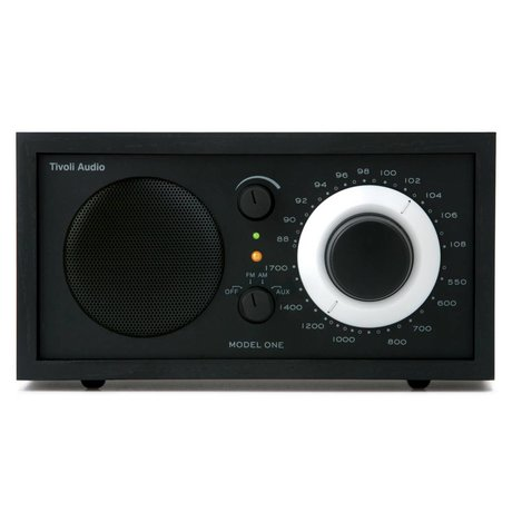 Tivoli Audio Shop Tabella Radio One 21,3x13,3xh11,4cm nero