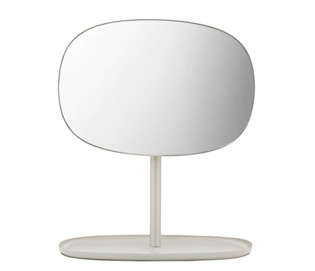 Normann Copenhagen Ayna Ayna Kapak kum renk çelik 28x19,5x34,5cm