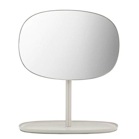 Normann Copenhagen Espejo Espejo de arena tirón 28x19,5x34,5cm de acero de color