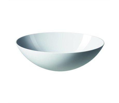 Normann Copenhagen Salad Bowl Krenit hvid Melamin 28x9cm