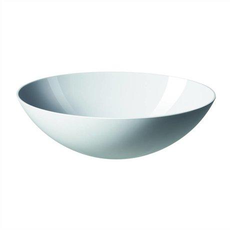 Normann Copenhagen Ensaladera Krenit 28x9cm melamina blanca