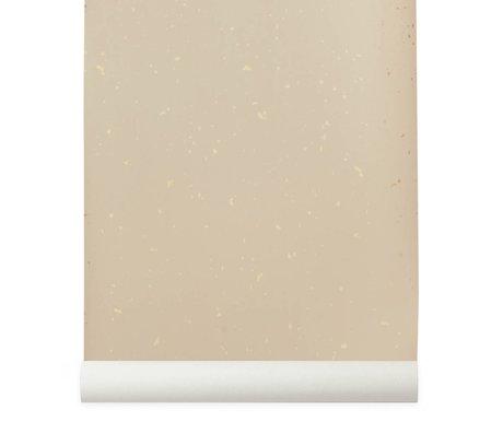 Ferm Living Confetti papier peint rose 10x0,53m