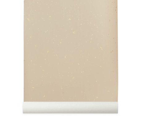 Ferm Living Confetti pink wallpaper 10x0,53m