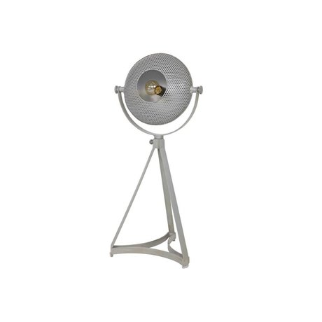 BePureHome Lampe de table en main soufflé gris 79x37x31cm métallique
