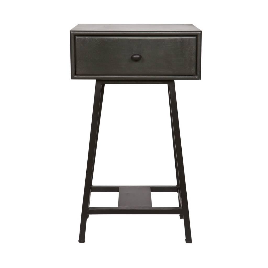 Ceci est une table dappoint super mignon de bepurehome le plateau est un cadre avec des jambes de haut en métal