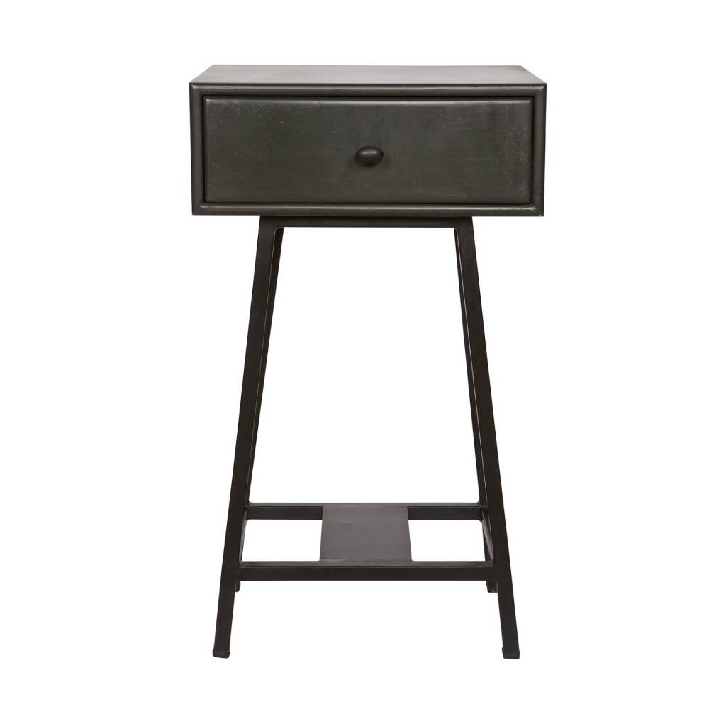 Black metal side table - This Is A Super Cute Side Table Of Bepurehome The Tray Is A Frame With High Metal Legs Put A Pile Of Books And Sink Into