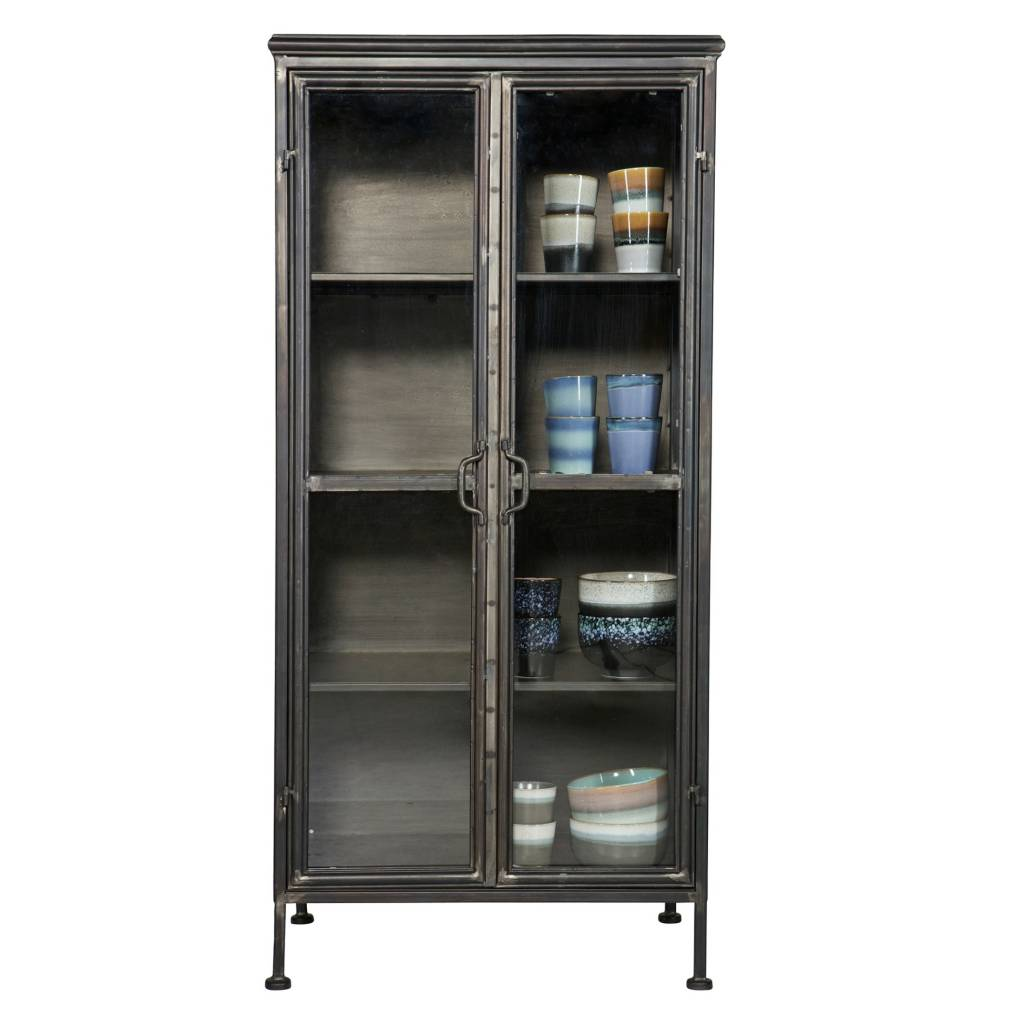 Metal Black Kitchen Cabinets: BePureHome Puristic Black Metal Cabinet Cabinet