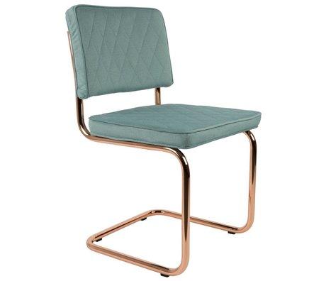 Zuiver Salle à manger menthe Diamond Chair polyester vert 48x48x85cm