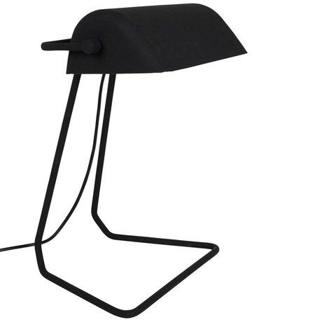 Zuiver Tischleuchte Broker schwarz Eisen 30x20,5x35cm