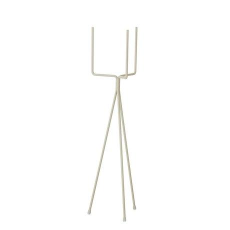 Ferm Living Pflanzen Standard kleinen grauen Metall Ø13x50cm