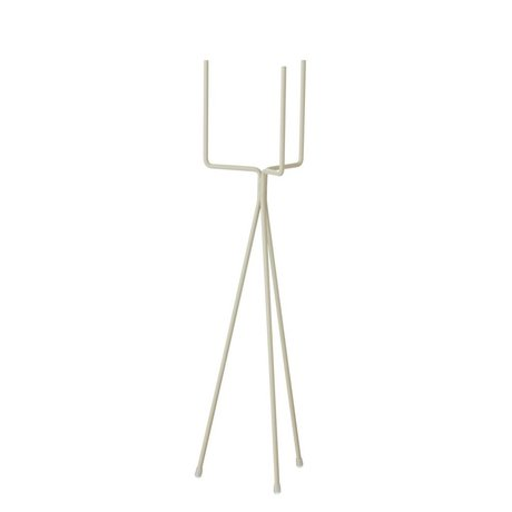 Ferm Living Plants standard small gray metal Ø13x50cm