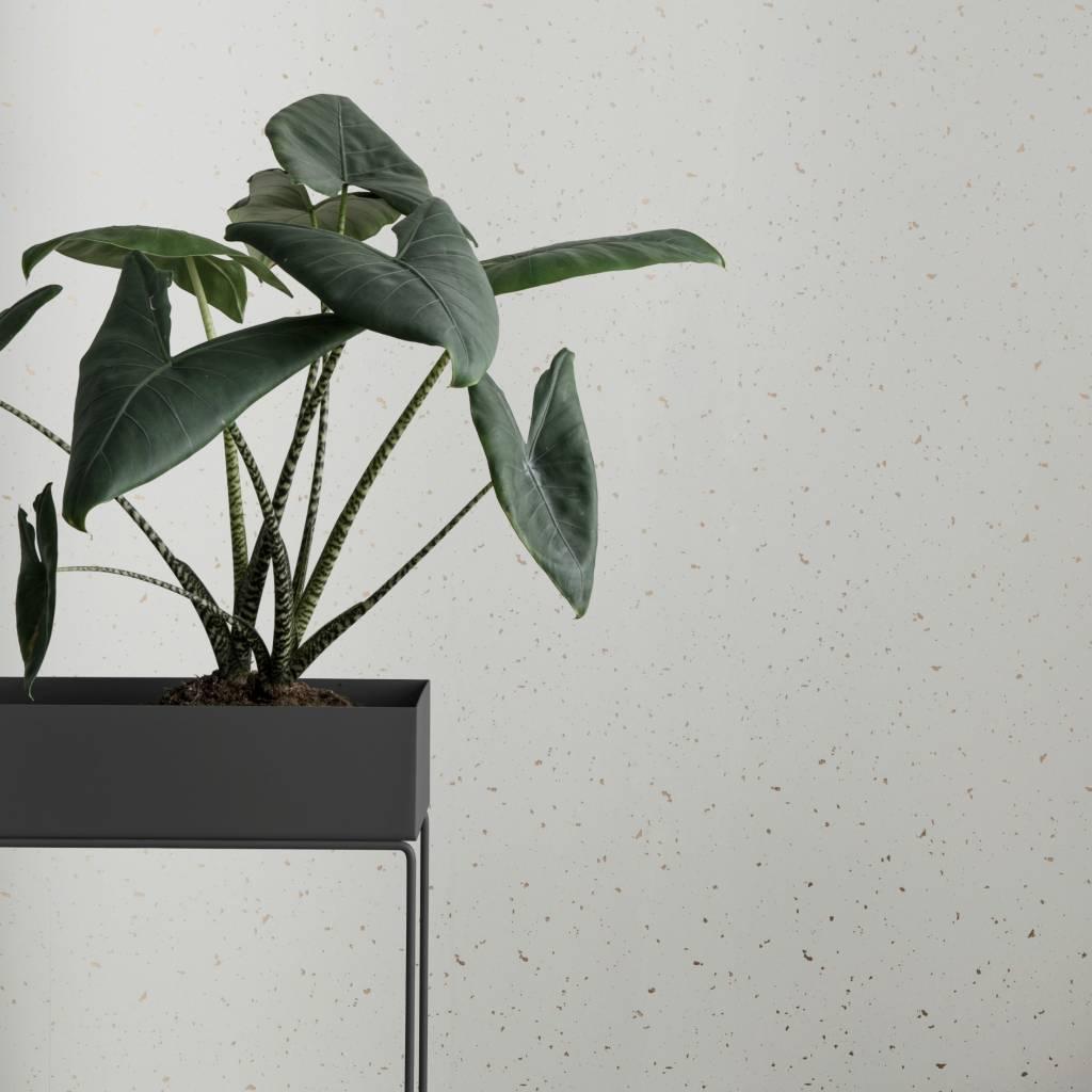Ferm Living Box Pflanze Dunkelgrau Metall 60x25x65cm   Lefliving.de