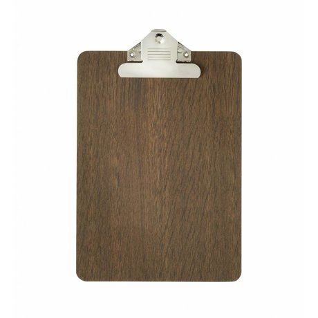 Ferm Living Clipboard brown wood a5