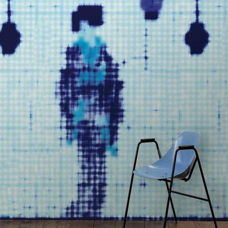 NLXL-Paola Navone Fond d'écran Geisha debout bleu 900x49 cm