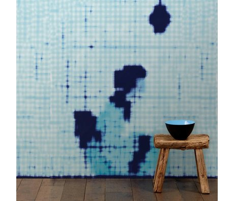 NLXL-Paola Navone Wallpaper Geisha sitting blue 900x49 cm