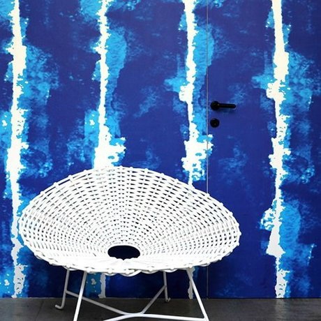 NLXL-Paola Navone Wallpaper Watercolors blue 900x49 cm