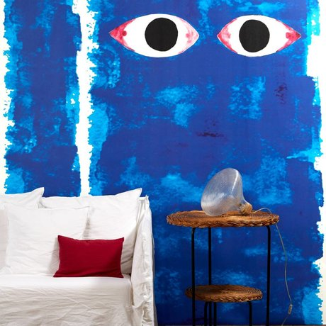 NLXL-Paola Navone Wallpaper Blue Eyes blue 900x49cm