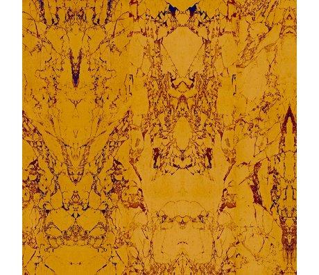 NLXL-Piet Hein Eek Wallpaper Gold-Marmorpapier 81 Gold 900x48,7cm