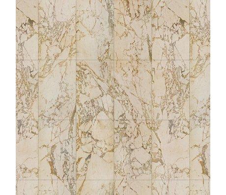 NLXL-Piet Hein Eek Marbre papier peint Beige papier crème 900x48,7cm