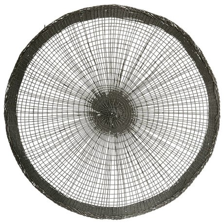 Housedoctor Tovagliette di carta grigia Ø38cm