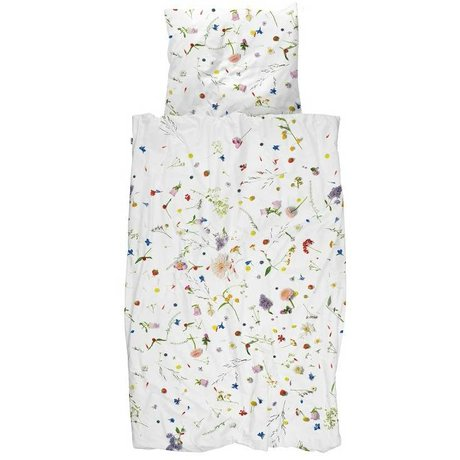 Duvet Flower Fields Multicolor cotton 260x200 / 220cm