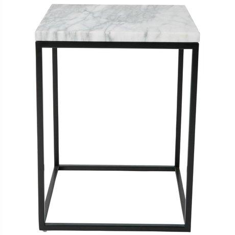 Zuiver Beistelltisch Marble Power aus Marmor 32 x 32 x 43 cm