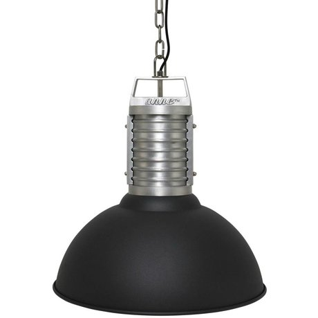 Anne Lighting Anne Philippe lustre Oncle aluminium noir ø50x192cm