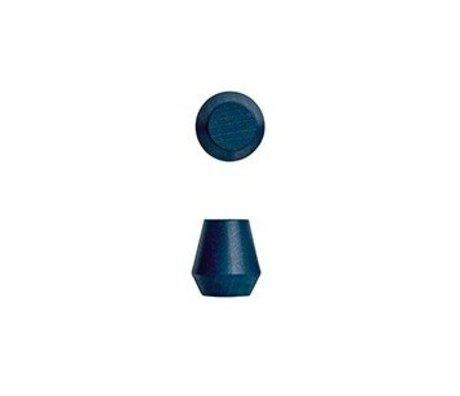 OYOY Runde Klammern Saki Satz von zwei blauen Holz Ø2,3x2,5cm