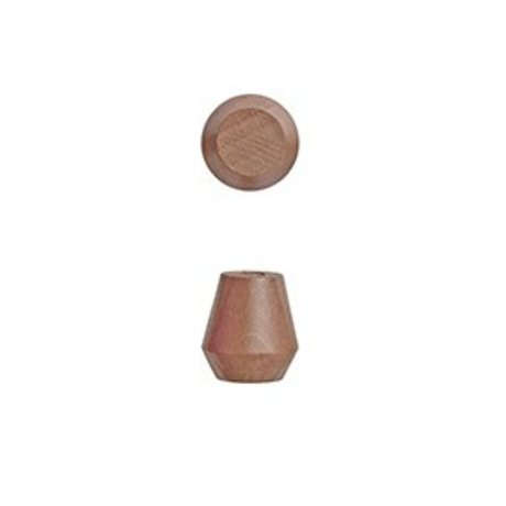 OYOY Parentesi Saki Set di due caramello Ø2,3x2,5cm legno marrone