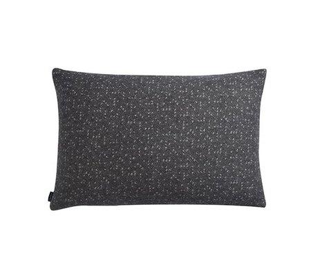 OYOY Cuscino Tenji grigio e 40x60cm lana bianca