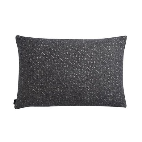 OYOY Oreiller Tenji gris et blanc laine 40x60cm