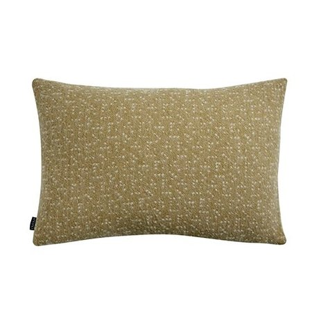 OYOY Pillow Tenji gul og hvid uld 40x60cm