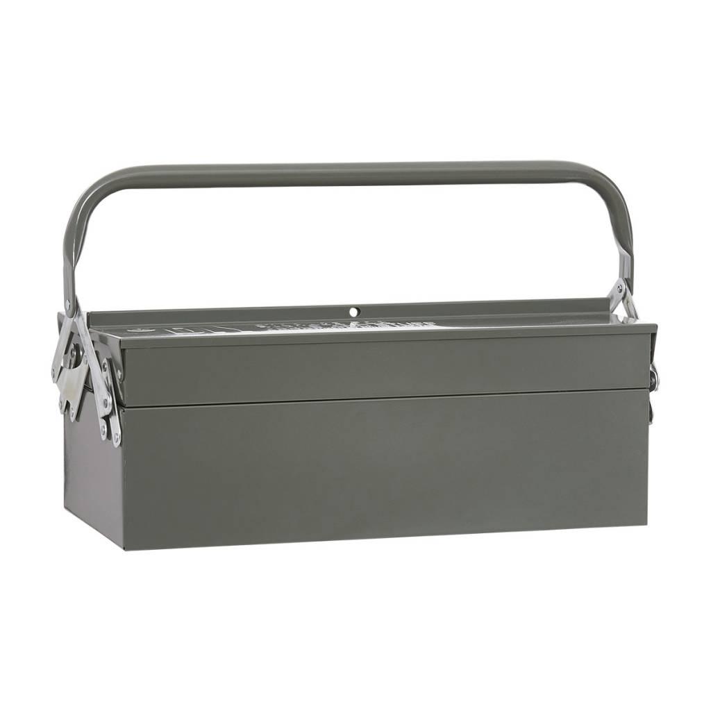 Housedoctor Aufbewahrungsboxen Tool Grun Metall 42x20xh11 5cm