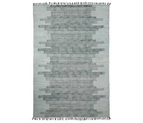 Housedoctor Tappeto Karma cotone 160x230cm grigio