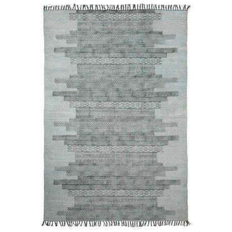 Housedoctor Tapis Karma coton gris 160x230cm
