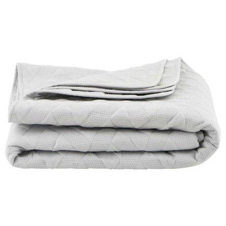 Housedoctor Blanco edredón de algodón 140x220cm Leh
