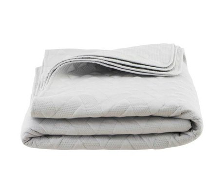 Housedoctor Gray cotton duvet Leh 240x240cm