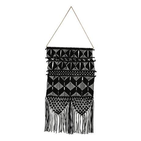 Housedoctor Tapestry artesiano 32x60cm cotone nero metallizzato