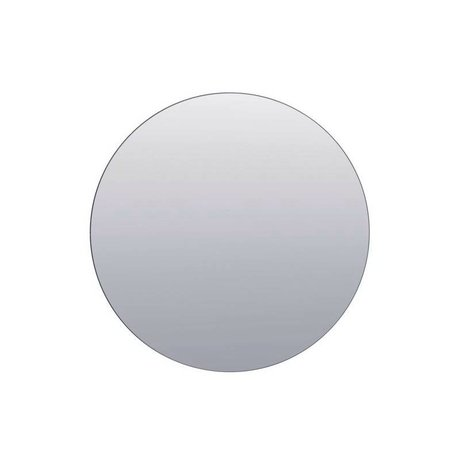 Housedoctor Vægge spejl sølv glas Ø80cm