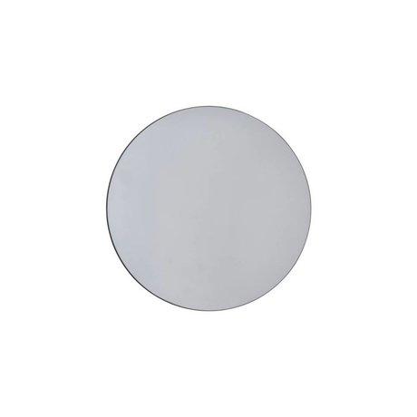 Housedoctor muri specchio grigio vetro Ø50cm