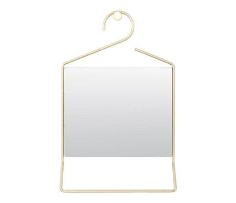 Housedoctor specchio Hang metallo oro 50x32x7cm vetro